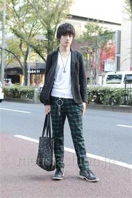 ファッションコーディネート原宿・表参道 2012年11月 藤岡秀太さん