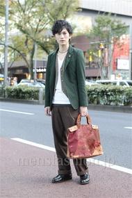 ファッションコーディネート原宿・表参道 2012年11月 桑山巧己さん