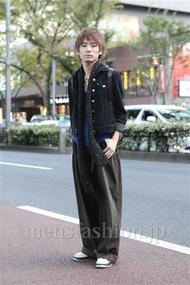 ファッションコーディネート原宿・表参道 2012年11月 小西 周さん