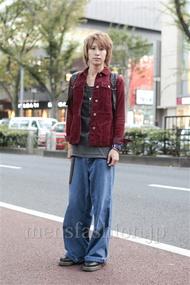 ファッションコーディネート原宿・表参道 2012年11月 古田 廉さん