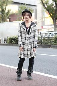 ファッションコーディネート原宿・表参道 2012年11月 炭谷尭人さん