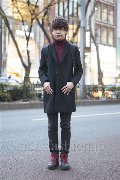 a07dcdeaad432 ... ファッションコーディネート原宿・表参道 2012年12月 岡崎 翼さん ...