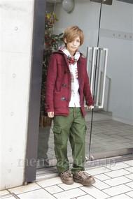 メンズファッション.jp注目コーディネート 2012年12月 岡 毅さん