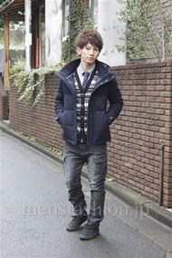 メンズファッション.jp注目コーディネート 2012年12月 山野純輝さん