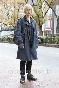 ファッションコーディネート原宿・表参道 2012年12月 北向達也さん