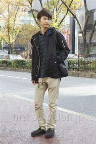 ファッションコーディネート原宿・表参道 2012年12月 滝沢宏至さん