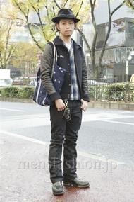 ファッションコーディネート原宿・表参道 2012年12月 小林綾太さん