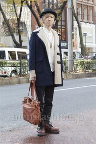 ファッションコーディネート原宿・表参道 2012年12月 Takaさん