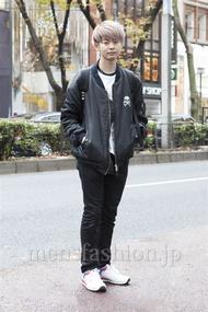 ファッションコーディネート原宿・表参道 2012年12月 サイトウショウヘイさん