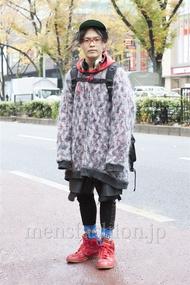 ファッションコーディネート原宿・表参道 2012年12月 nabescoさん