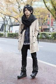ファッションコーディネート原宿・表参道 2012年12月 黒山慶司さん