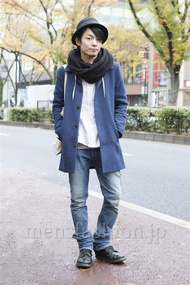 ファッションコーディネート原宿・表参道 2012年12月 松田亮葉さん