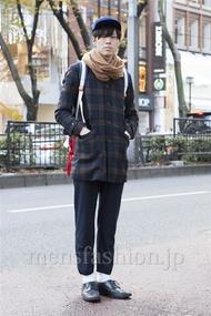 ファッションコーディネート原宿・表参道 2012年12月 いしずかたくやさん