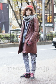 ファッションコーディネート原宿・表参道 2012年12月 カガラシュンさん