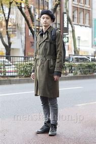ファッションコーディネート原宿・表参道 2012年12月 内原達也さん