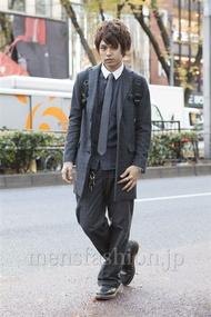 ファッションコーディネート原宿・表参道 2012年12月 高木進之介さん
