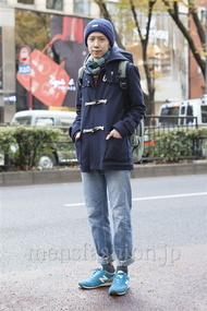 ファッションコーディネート原宿・表参道 2012年12月 松尾芳晴さん
