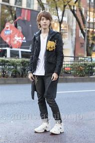 ファッションコーディネート原宿・表参道 2012年12月 伏貫 諒さん