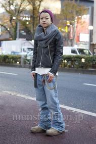 ファッションコーディネート原宿・表参道 2012年12月 佐藤貴龍さん