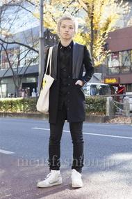 ファッションコーディネート原宿・表参道 2012年12月 浜本忠勝さん