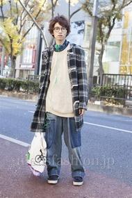 ファッションコーディネート原宿・表参道 2012年12月 浦辻大奨さん