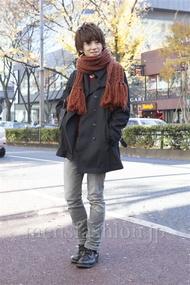 ファッションコーディネート原宿・表参道 2012年12月 大倉士門さん