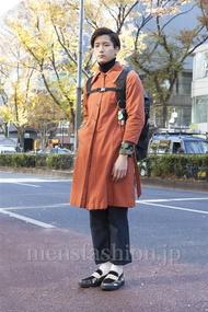 ファッションコーディネート原宿・表参道 2012年12月 加藤康貴さん