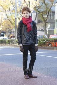 ファッションコーディネート原宿・表参道 2012年12月 雉山谷エイチさん