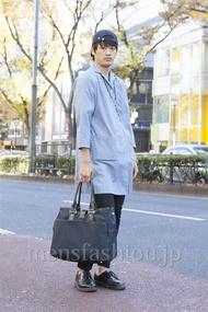 ファッションコーディネート原宿・表参道 2012年12月 上野晃宏さん
