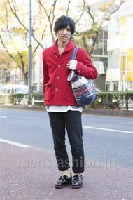 ファッションコーディネート原宿・表参道 2012年12月 甲斐紀行さん