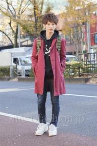 ファッションコーディネート原宿・表参道 2012年12月 山野純輝さん