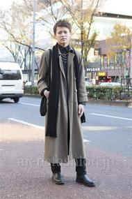 ファッションコーディネート原宿・表参道 2012年12月 石川健介さん