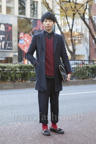 ファッションコーディネート原宿・表参道 2012年12月 大澤一嘉さん