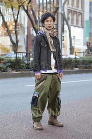 ファッションコーディネート原宿・表参道 2012年12月 シュンスケさん
