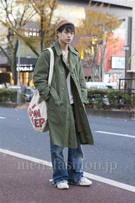 ファッションコーディネート原宿・表参道 2012年12月 松村央慈さん