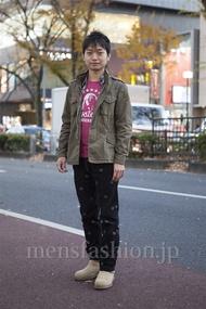 ファッションコーディネート原宿・表参道 2012年12月 masaさん