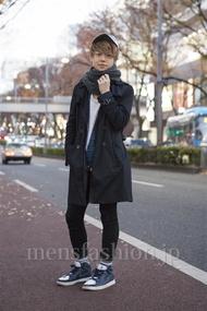 ファッションコーディネート原宿・表参道 2012年12月 アンドウコウイチさん
