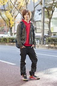 ファッションコーディネート原宿・表参道 2012年12月 小田切優太さん