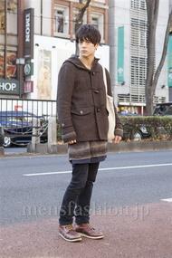 ファッションコーディネート原宿・表参道 2012年12月 佐々木和彦さん