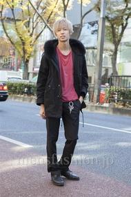 ファッションコーディネート原宿・表参道 2012年12月 飯島彰彦さん