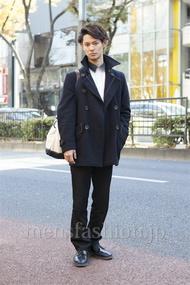 ファッションコーディネート原宿・表参道 2012年12月 小原教宏さん