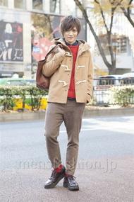 ファッションコーディネート原宿・表参道 2012年12月 藤田 富さん