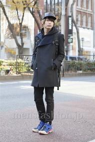 ファッションコーディネート原宿・表参道 2012年12月 藤田純太さん