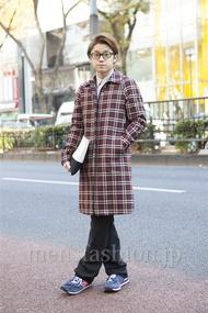 ファッションコーディネート原宿・表参道 2012年12月 石井俊伍さん