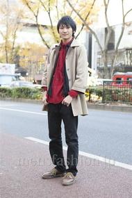 ファッションコーディネート原宿・表参道 2012年12月 高橋直斗さん