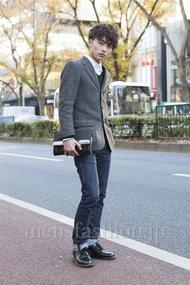 ファッションコーディネート原宿・表参道 2012年12月 大橋 岬さん