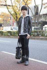 ファッションコーディネート原宿・表参道 2012年12月 藤岡秀太さん