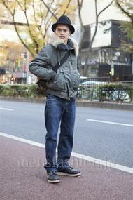ファッションコーディネート原宿・表参道 2012年12月 青山清志さん