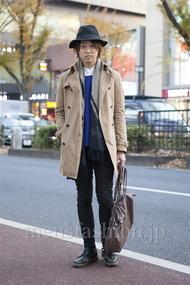 ファッションコーディネート原宿・表参道 2012年12月 山下大智さん