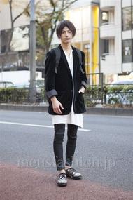 ファッションコーディネート原宿・表参道 2012年12月 山田大輔さん